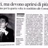 Il Corriere del Veneto - 27 novembre 2014